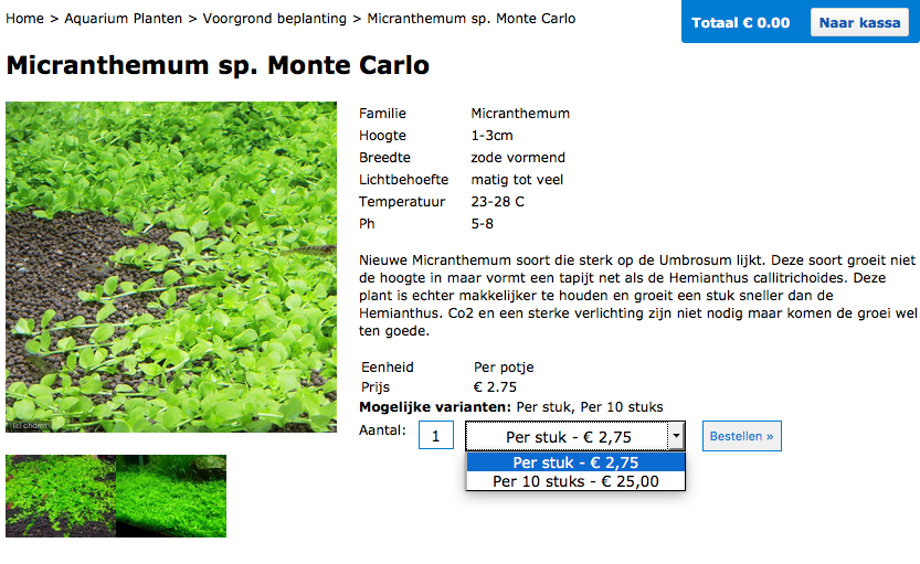 Monte Carlo Product Page